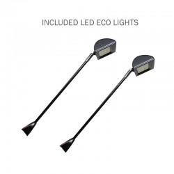 Set of 2 LED Stem Lights for Coyote pop-up display