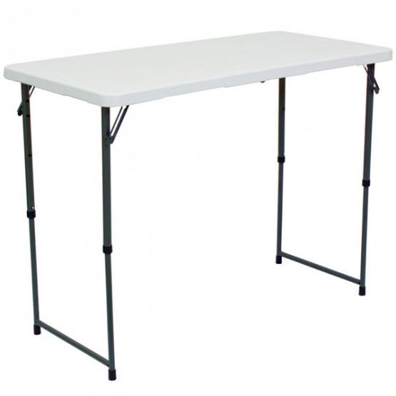 PORTABLE ADJUSTABLE DEMO TABLE