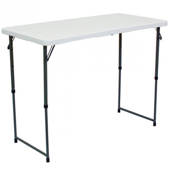 Counter Height Portable Table : Accessories / Portable Furniture / PORTABLE ADJUSTABLE DEMO TABLE