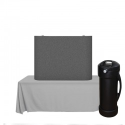 4ft Coyote Full Fabric Straight Table Top Kit