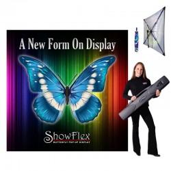 "ShowFlex 92""x92"" Tension Fabric Display"