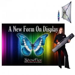 "ShowFlex 108""x72"" Tension Fabric Display"