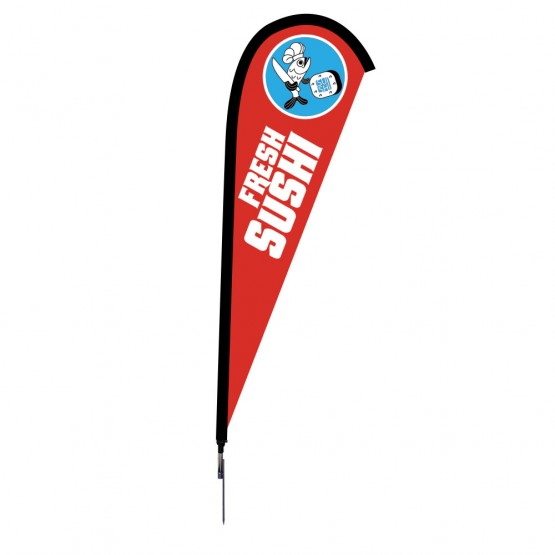 7.5 ft. Small Sunbird Flag Single Sided Graphic Package