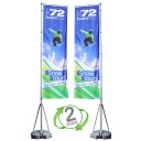 13 ft. Mondo Flag Double Sided Graphic Package