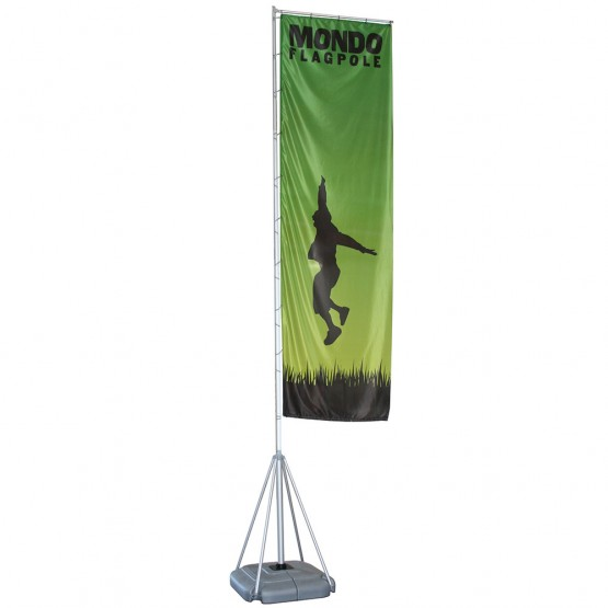 17 ft. Mondo Flag Single Sided Graphic Package