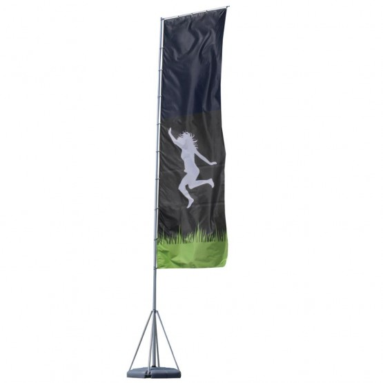 23 ft. Mondo Flag Single Sided Graphic Package