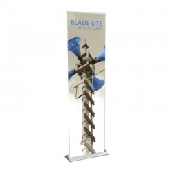 """Blade Lite 23.5"""" Retractable Banner Stand"""