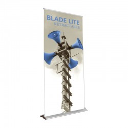 """Blade Lite 39.25"""" Retractable Banner Stand"""