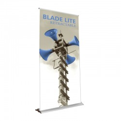 """Blade Lite 47.25"""" Retractable Banner Stand"""
