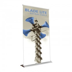 """Blade Lite 59"""" Retractable Banner Stand"""