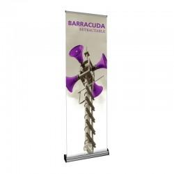 "Barracuda 23.5"" Retractable Banner Stand"