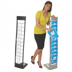 INNOVATE 10-POCKET LITERATURE STAND