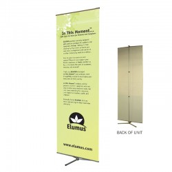 "Multi-Master 22"" wide Telescopic Banner Stand"