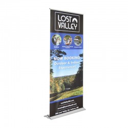 """Blade Lite 31.5"""" Retractable Banner Stand"""