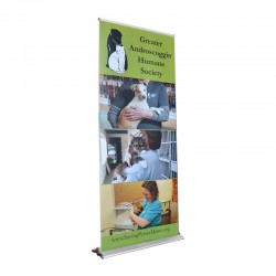 """Blade Lite 33.5"""" Retractable Banner Stand"""