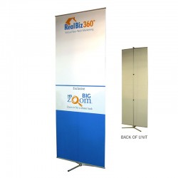 "Multi-Master 36"" wide Telescopic Banner Stand"