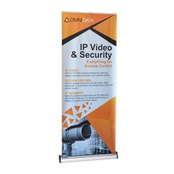 """Imagine 33.5"""" Retractable Banner Stand"""