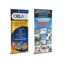 """Orient 35.5"""" Retractable Banner Stand"""