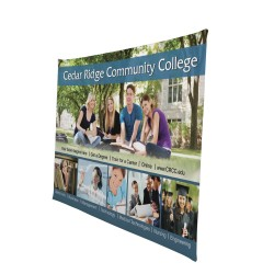 8ft Traverse Adjustable Banner Stand