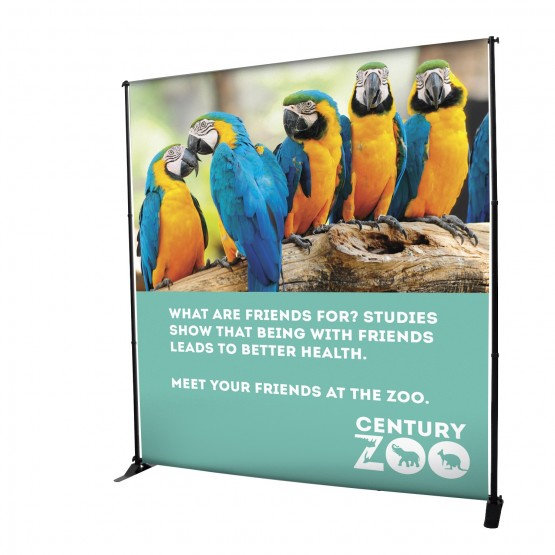 7ft Deluxe Adjustable Banner Stand Kit