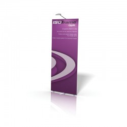 ISOframe Ripple Single Banner Stand