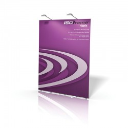 ISOframe Ripple 2-Panel Banner Stand