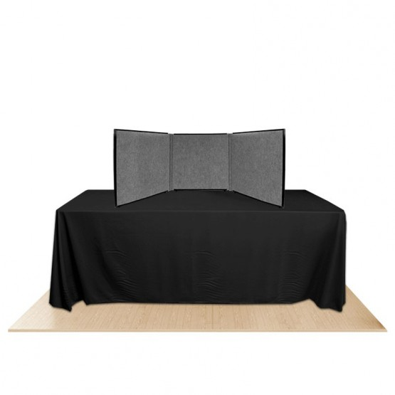 3-Panel Promoter24 Table Top Display