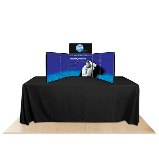 3-Panel Promoter24 Table Top Display Kit 2