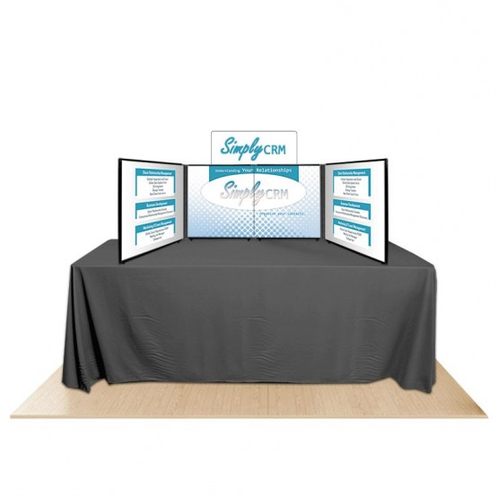4-Panel Promoter24 Table Top Display Kit 2