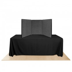 3-Panel Promoter36 Table Top Display