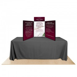 3-Panel Promoter36 Table Top Display Kit 2