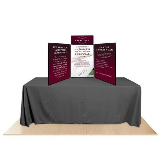 3-Panel Promoter36 Table Top Display Kit 2