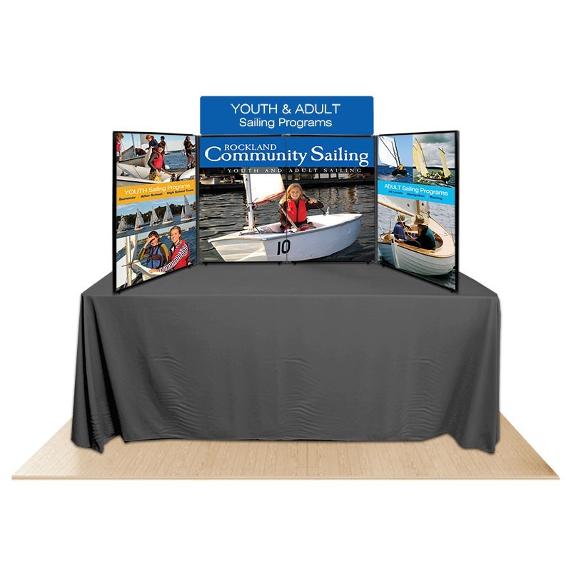 4 panel promoter36 table top display kit 2 for Html display table