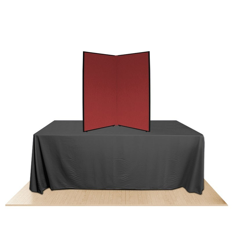 2 panel promoter45 table top display