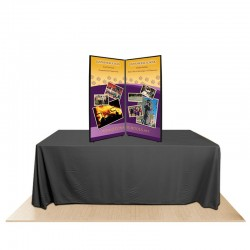 2-Panel Promoter45 Table Top Display