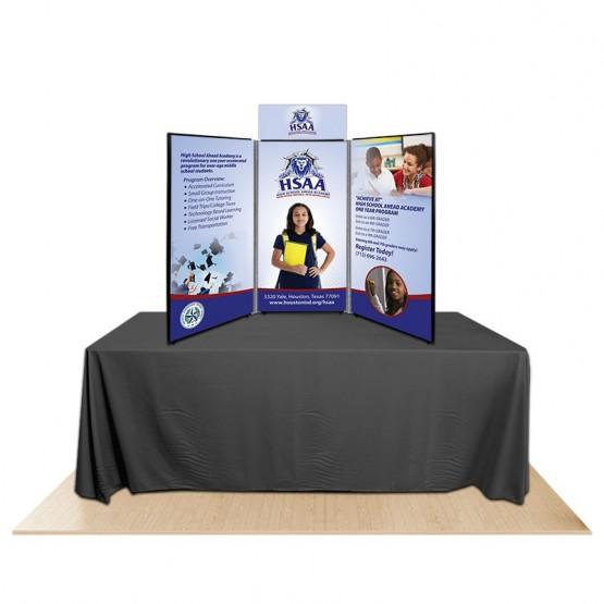 3-Panel Promoter45 Table Top Display Kit 2