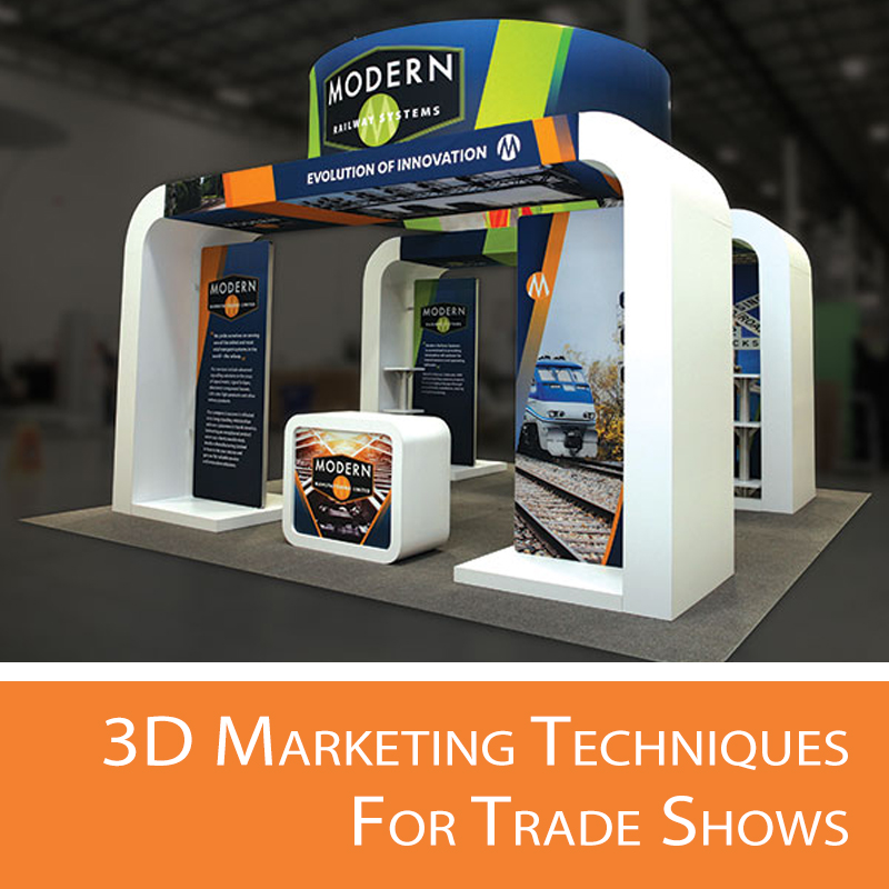 3D trade show techniques for any brand