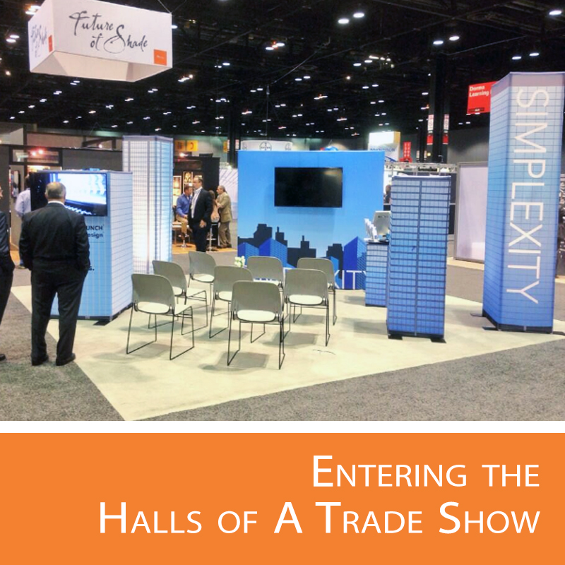 The halls of a trade show have more to offer than expected.