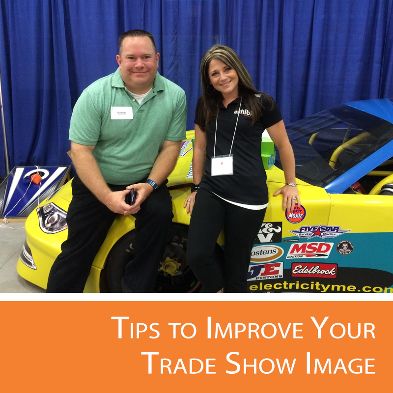 Tips to help exhibitors improve their individual image.