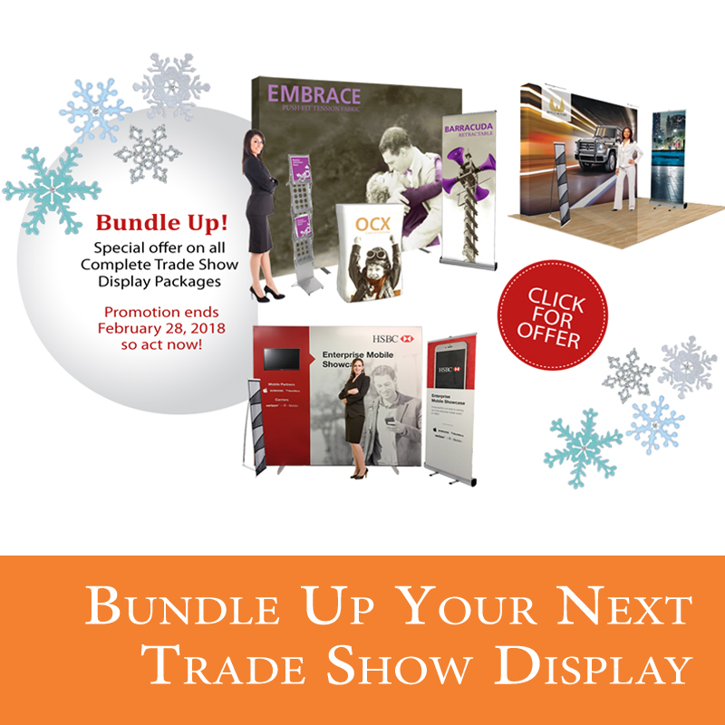 Bundle Up your Trade Show Display