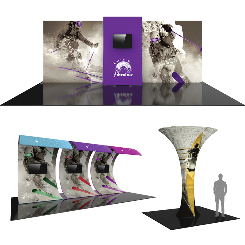 Here's why you should consider a Tension Fabric Display