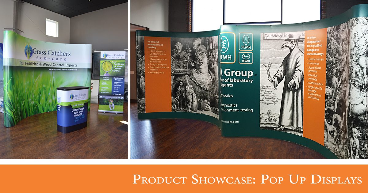 Product Showcase: Pop Up Displays
