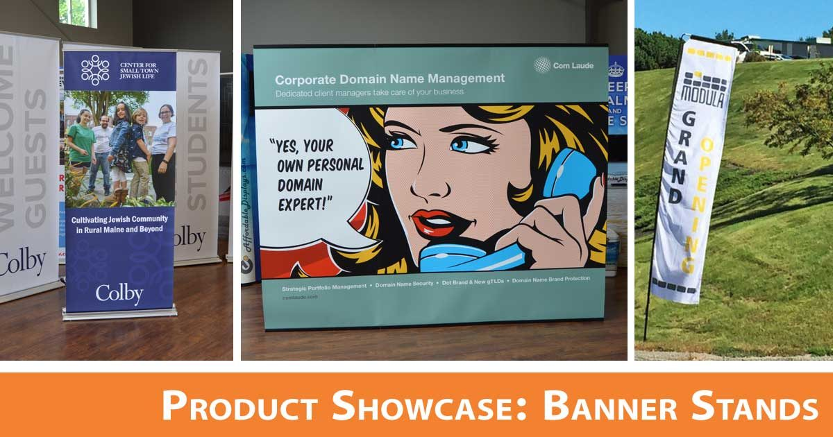Product Showcase: Banner Stands