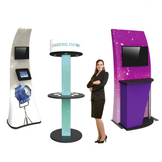 Interactive Kiosks & Podiums