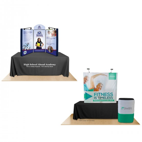 Exhibition Booth Table : Trade show exhibition booth mockup mockup templates creative