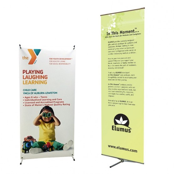 Non Retractable Banner Stands