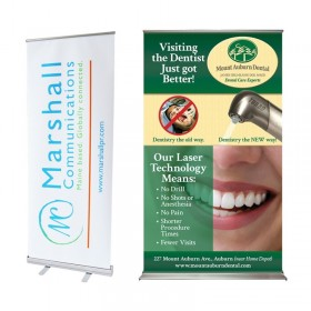 Banner Stands - Affordable Exhibit Display