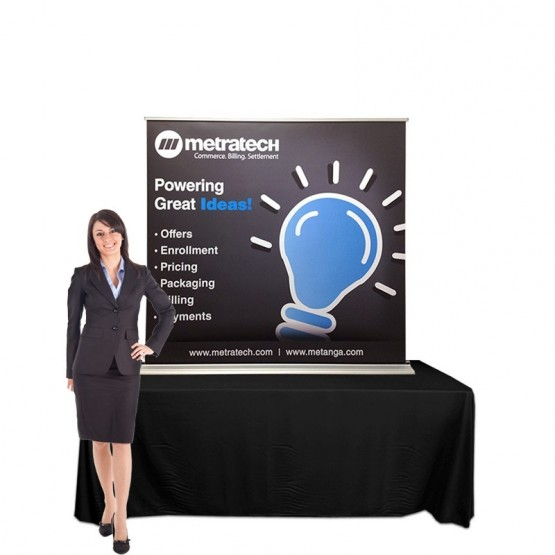 Exhibition Stand Table : Table top banner stands affordable exhibit display