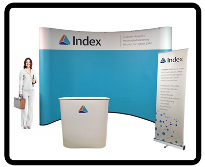 10ft pop up Trade show display kit