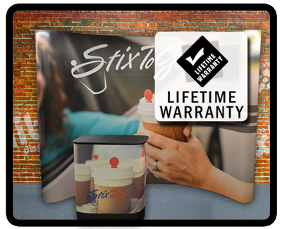 Pop Up Displays - Lifetime Warranty - USA Made since 1999